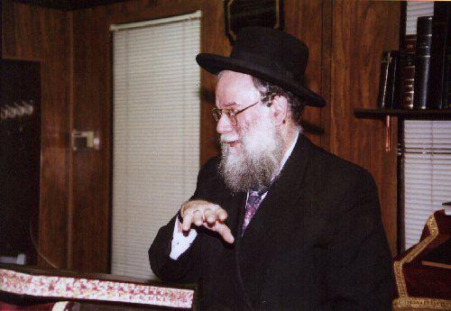 Rav Schmuel Zev Friedman