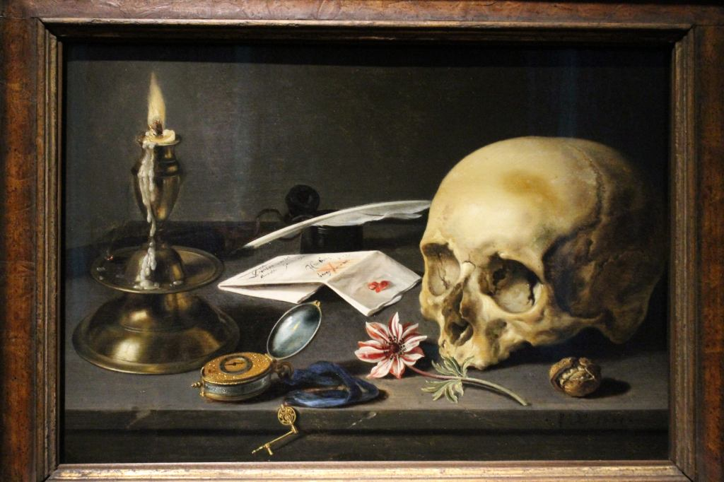 Stilllife with Skull