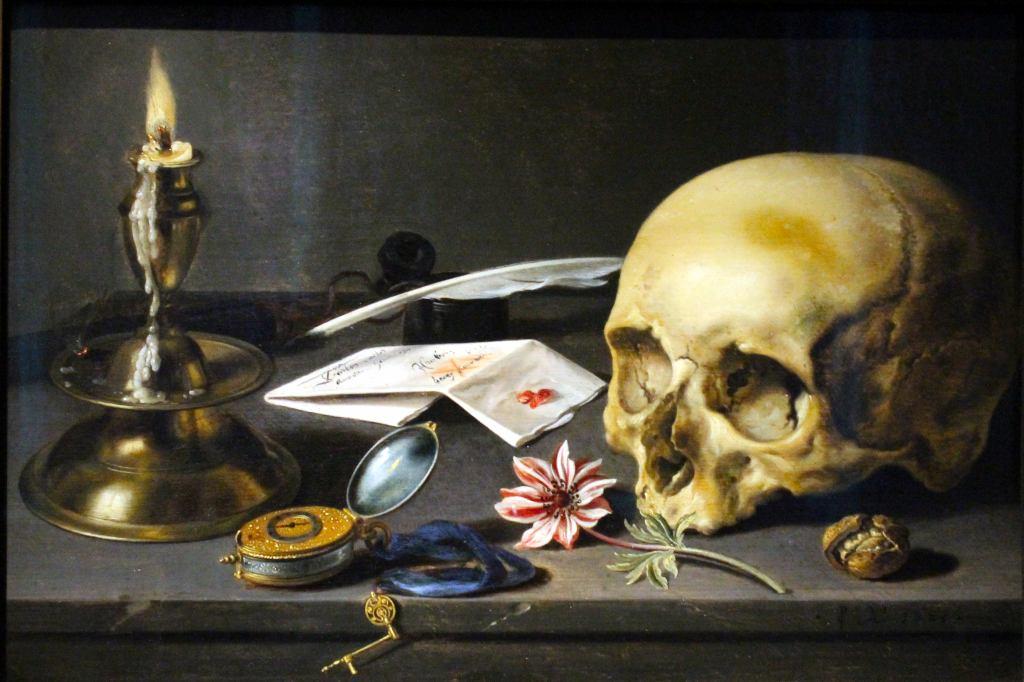 Stilllife with Skull