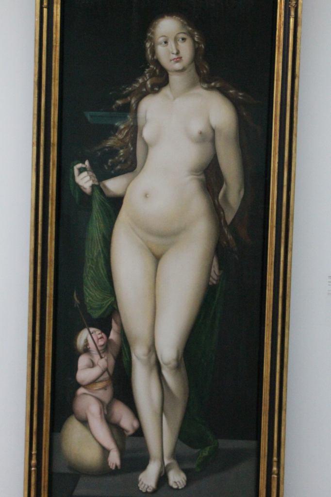 Venus and Amor -  Hans Baldung 1524/1525