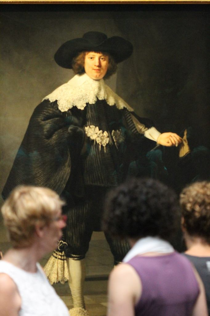 Marten Soolmans - Rembrandt Full Length Portrait