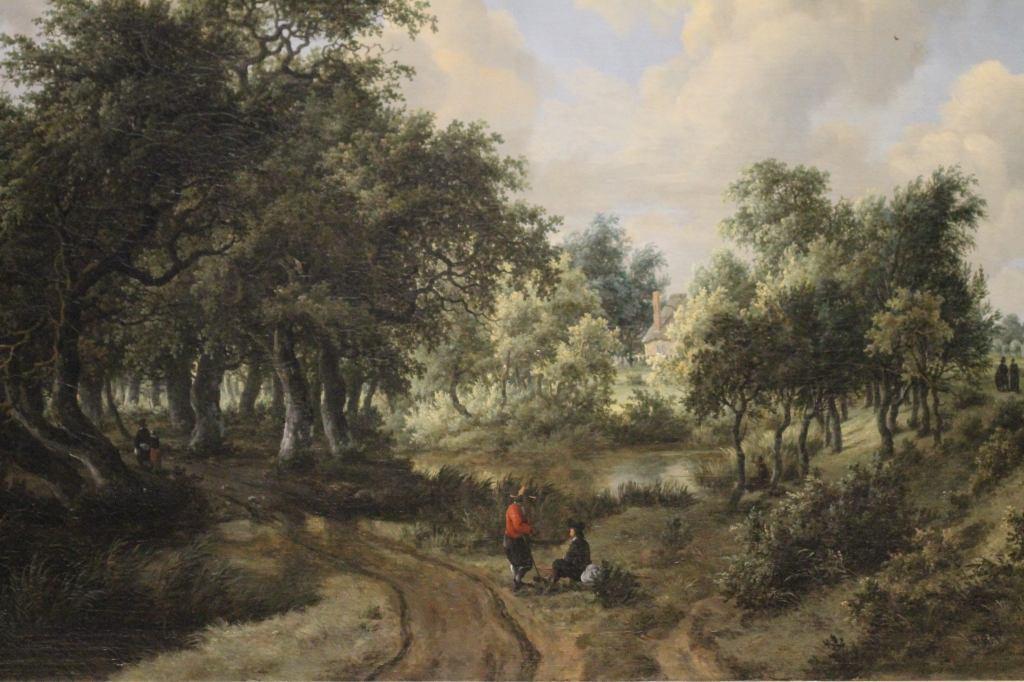 Hobbema - Wooden Landscape