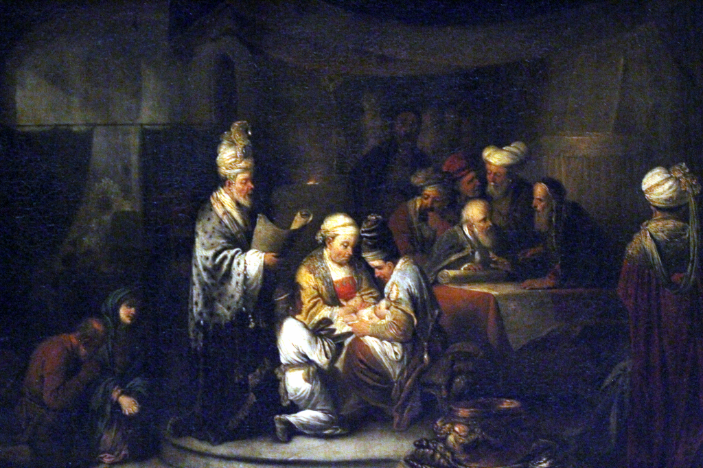 Dietrich - The Circumcision  some time after 1720