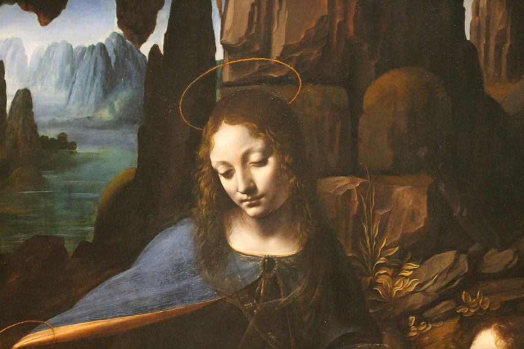 Leonardo Da Vinci - Virgin on the Rocks