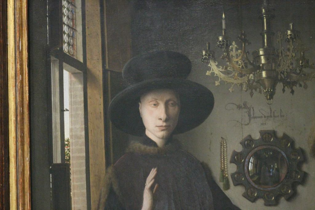 The Arnolfini Portrait Jan van Eyck