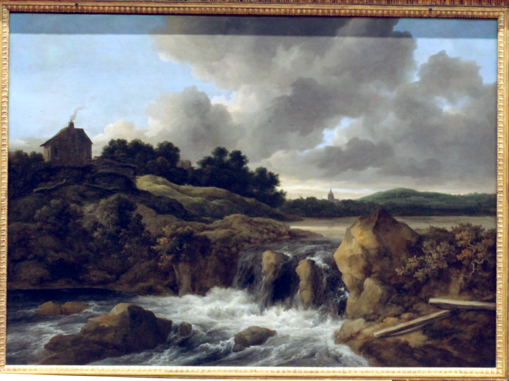Ruishdael - Waterfall at the Wallace Collection