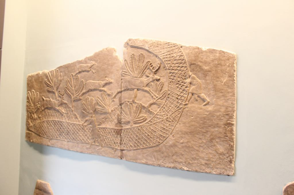Assyrian Deer Trapping