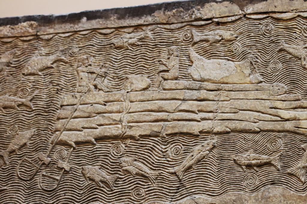 Assyrian Fishing