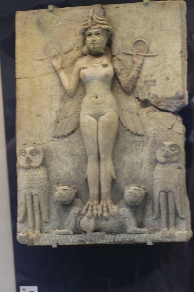Lilitu, Inanna/Ishtar, or Ereshkigal