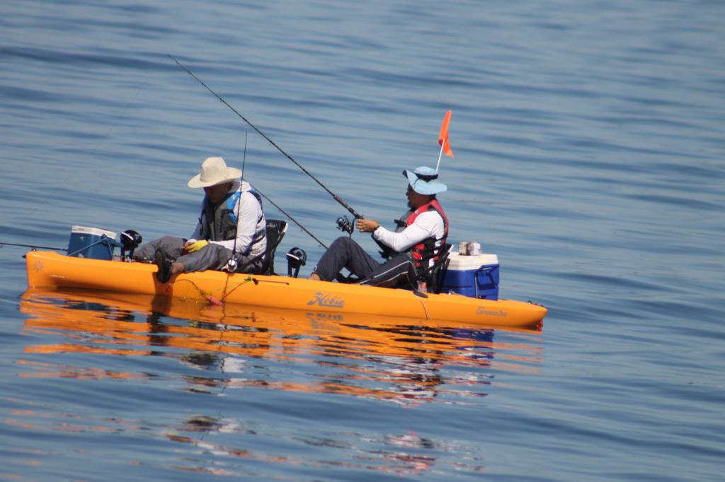 Kayak Fishing in Jamaica Bay