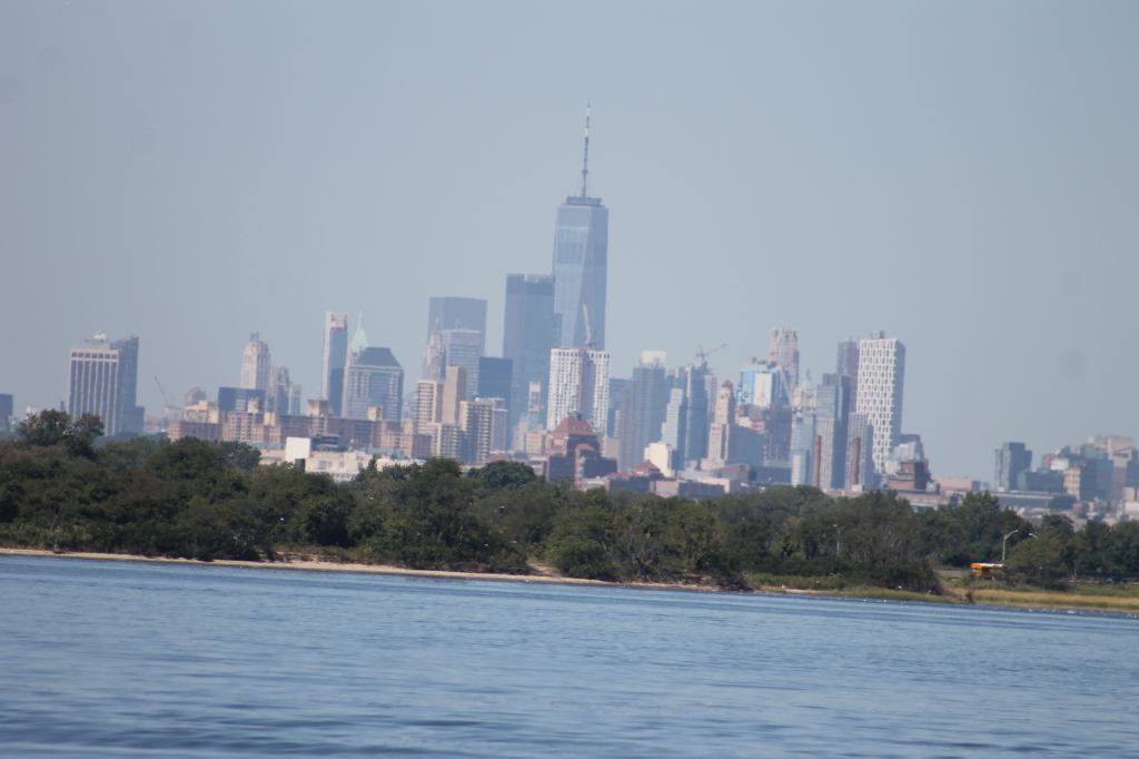 Lower Manhattan from Jamaica Bay
