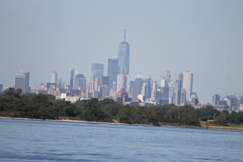 Lower Manhattan from Jamaica Bay