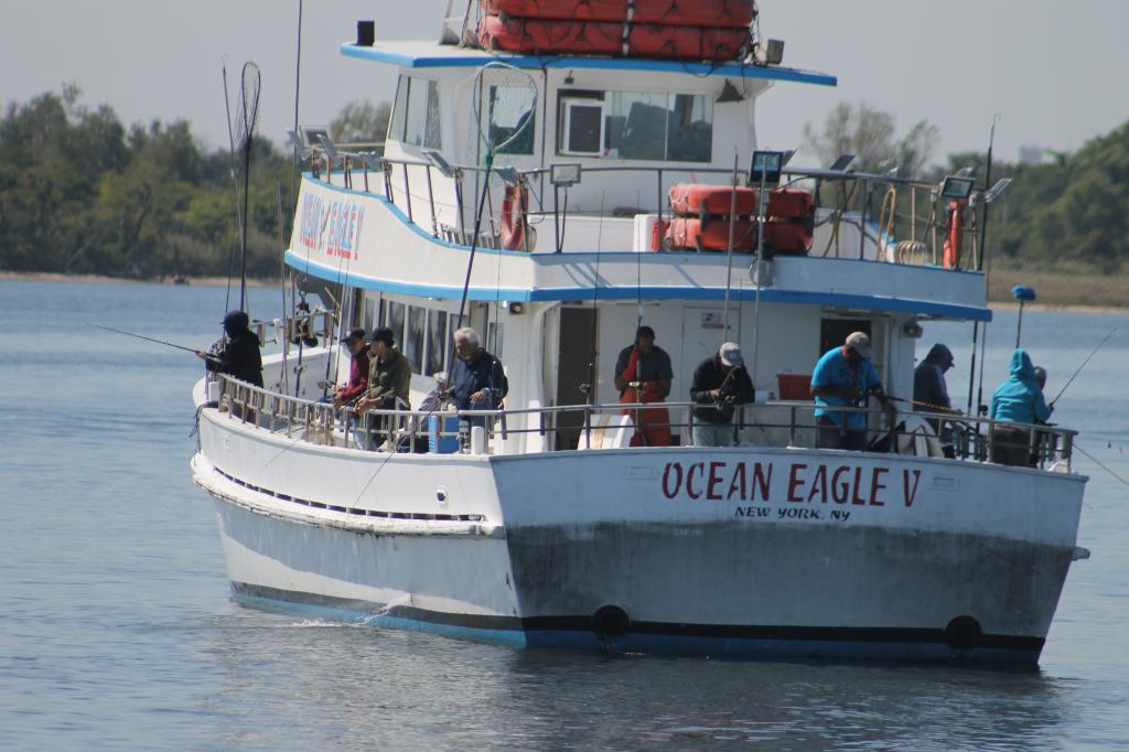 Lazy Day on the Ocean Eagle