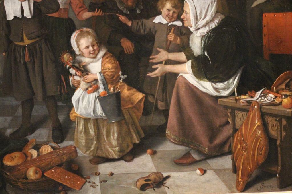 Jan Steen, Feast of St. Nicholas