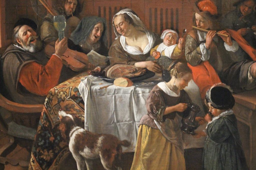 Jan Steen - As the old sing, so shall the young twitter