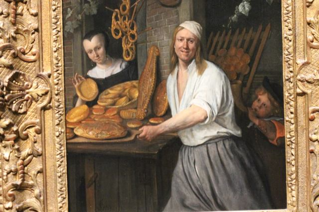 Jan Steen - The Baker Arent Oostwaard and his Wife