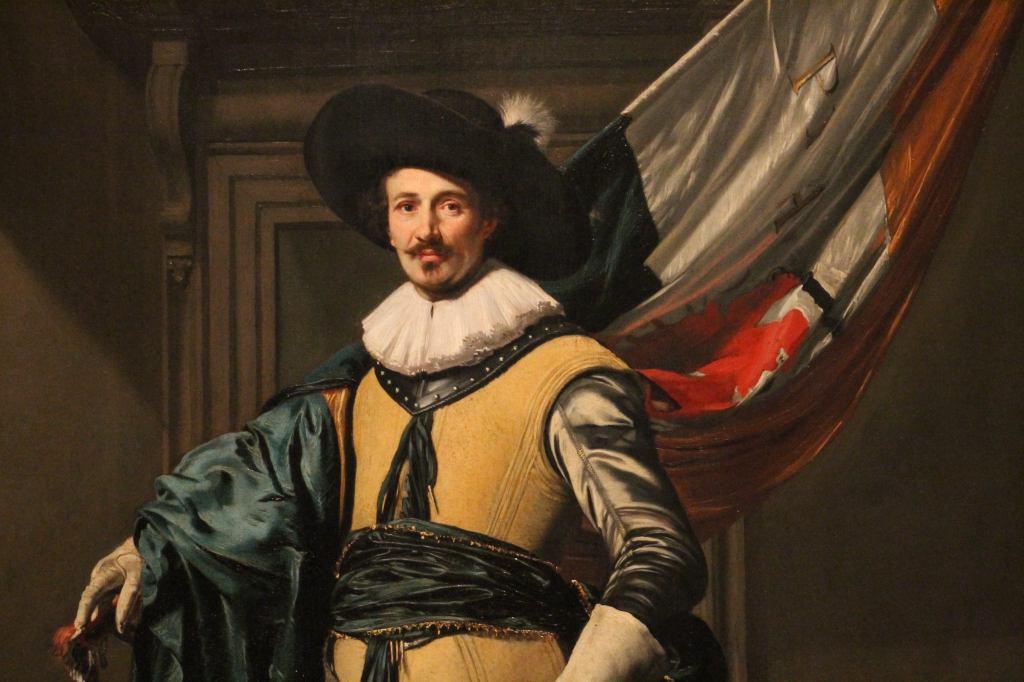 Thomas de Keyser, Portrait of Loef Vredericx (1590-1668) as an Ensign, 1626
