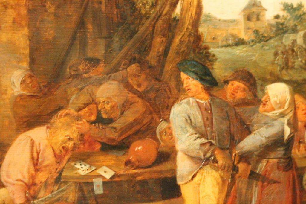 Adriaen Brouwer, Fighting Peasants
