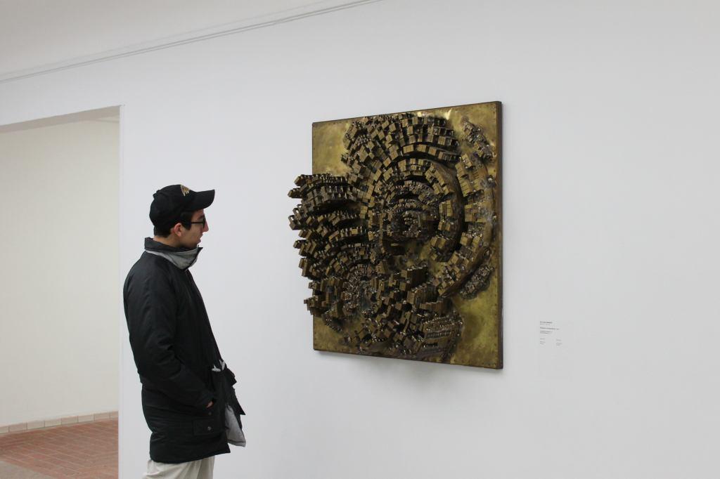 Brass Wall Sculpture