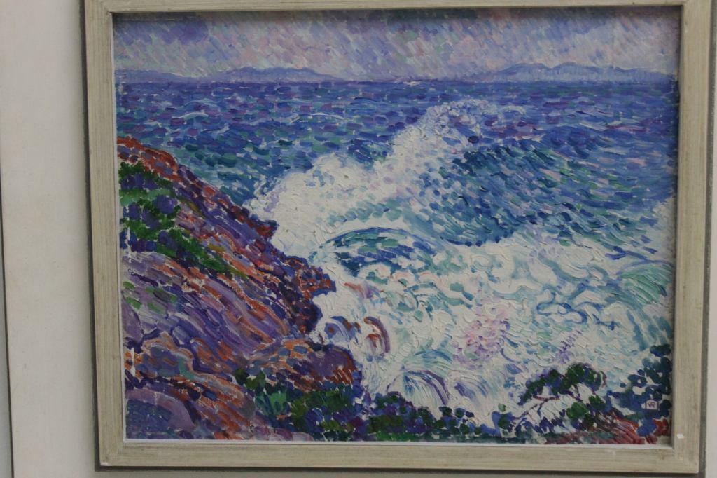 THÉO VAN RYSSELBERGHE (1862-1926) Coup de vent d'est, 1905