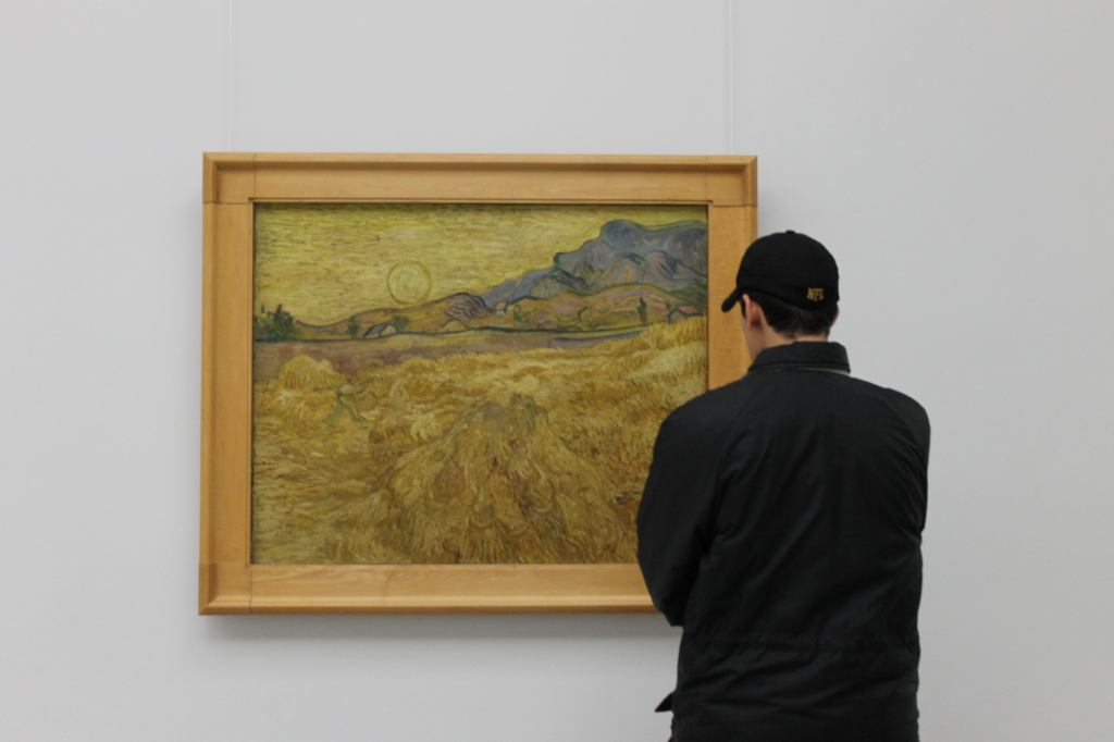 Van Gogh - Wheat Field in Yellow