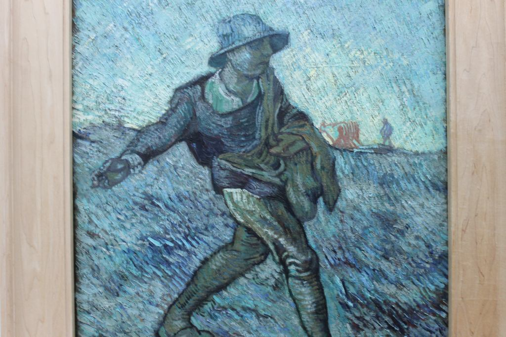 Van Gogh - Seed Spreader in Blue