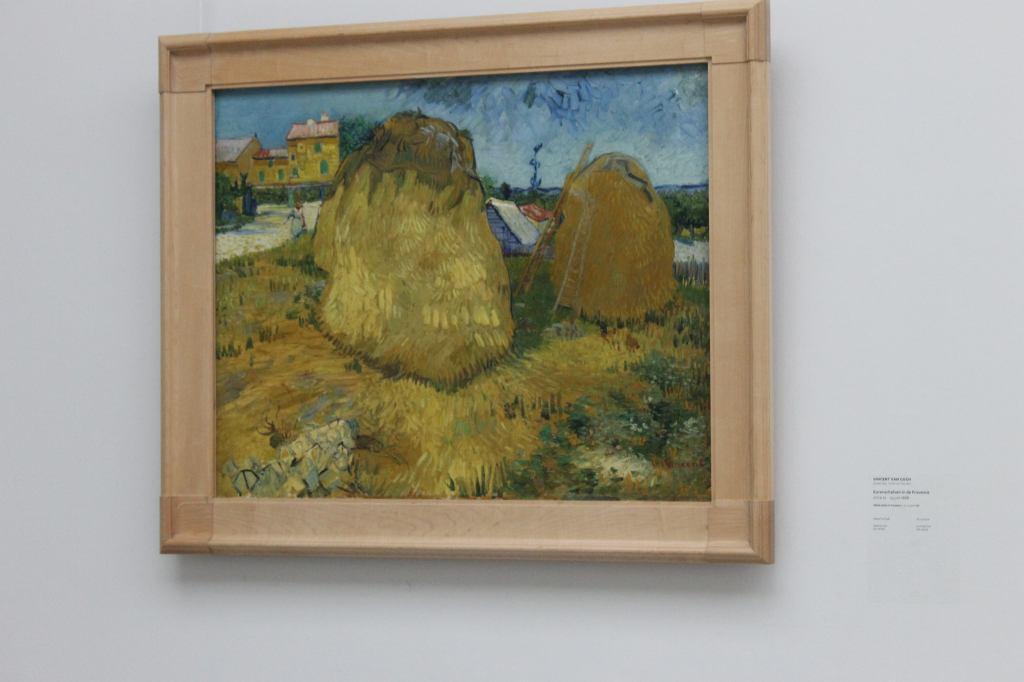 Van Gogh - Wheat Stacks