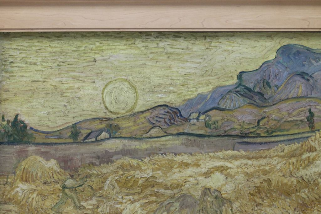 Van Gogh Wheat Field in Yellow
