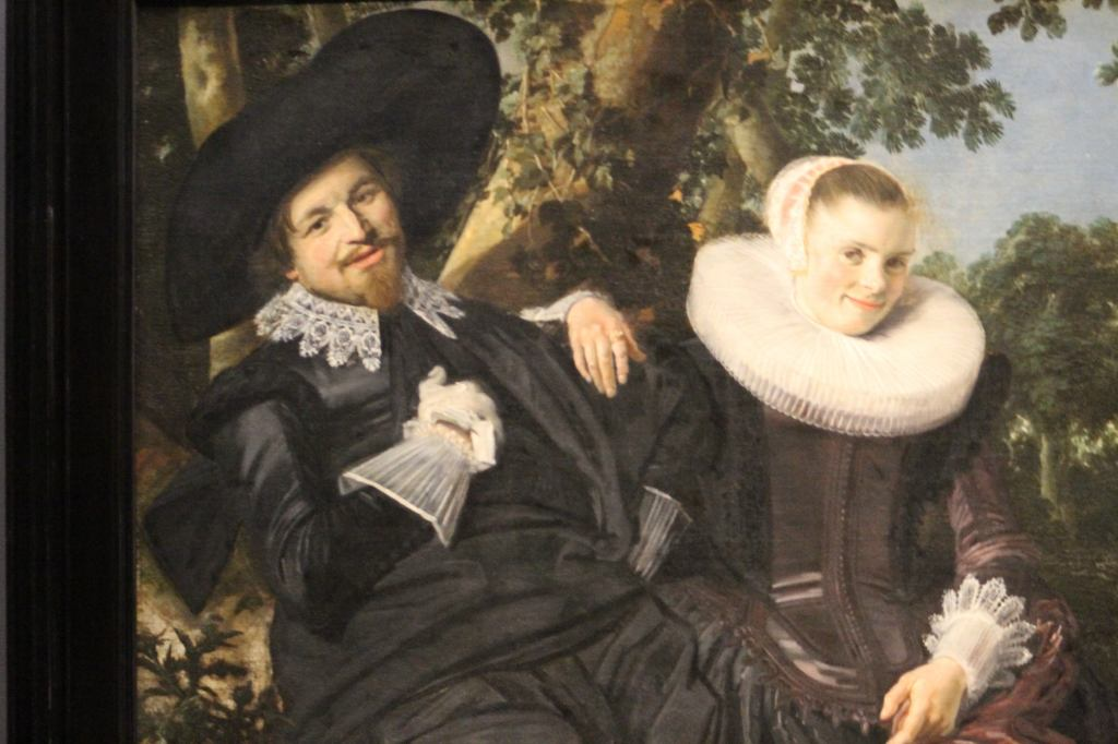 Frans Hals Wedding portrait of Isaac Abrahamsz Massa and Beatrix van der Laan