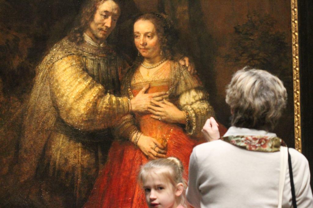 Rembrandt - Jewish Bride