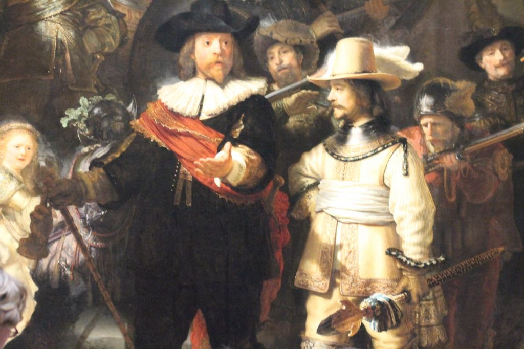 Rembrandt - Militia Company of District II under the Command of Captain Frans Banninck Cocq