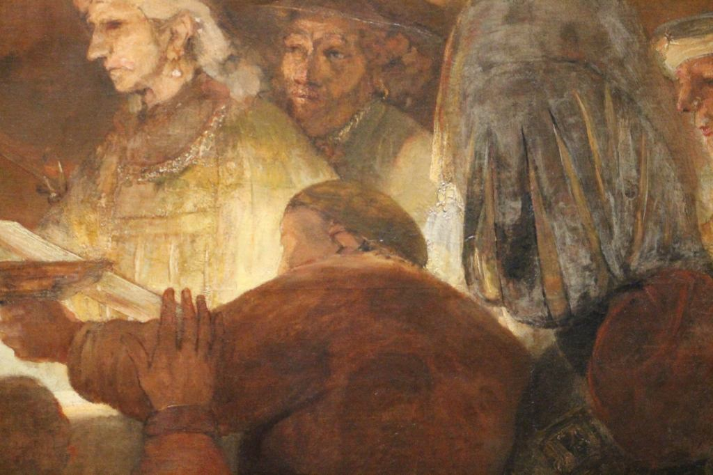 Rembrandt - The Conspiracy of the Batavians under Julius Civilis