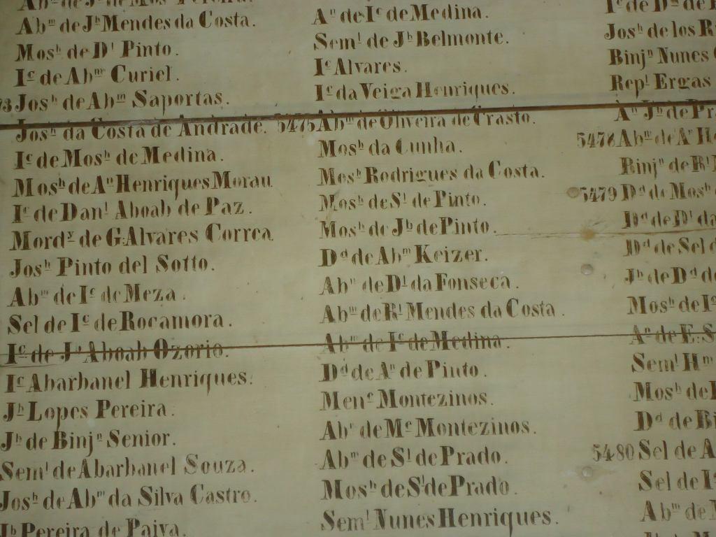 Portuguese Synagogue - winter Baes Medresh