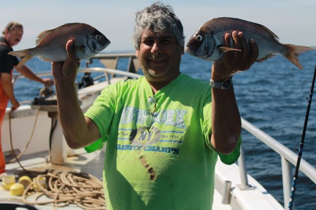 Porgies in Hand